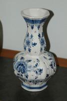 Foto 4 Delft Deckelvase Deckel Vase blau + 2 vase