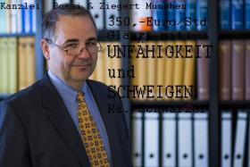 RA Schwarzer, Kanzlei Bossi u. Ziegert, unfähig.