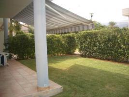 Denia, Spanien langzeitmiete ecke apartment Erdgeschoss mit privatem Garten