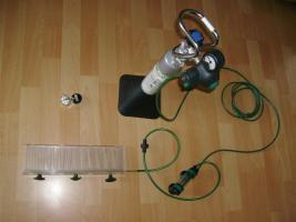 Dennerle CO 2 komplett Anlage-Set 600  für Aquarien