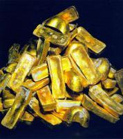 Foto 2 Der Verkauf von Goldbarren und Gold-Staub