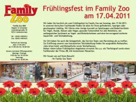 Der weiteste Weg lohnt sich - Frühlingsfest im Family Zoo Geilenkirchen!