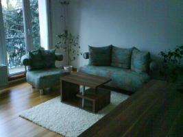Design 2-sitzer Sofa und Sessel, neuwertig