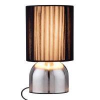 Design Edelstahl Touchlampe, Tischlampe.
