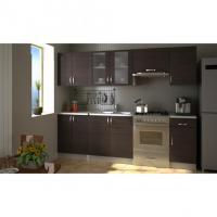 Design Einbauküche Küchenzeile 240 cm - FREI HAUS