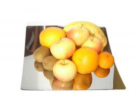 Design Obstschale aus Edelstahl, Fruchtschale