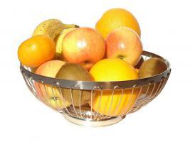 Foto 3 Design Obstschale aus Edelstahl, Fruchtschale