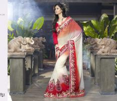 Designer Bollywood sari