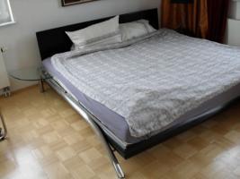 Designer-Doppelbett - inkl. Lattenroste