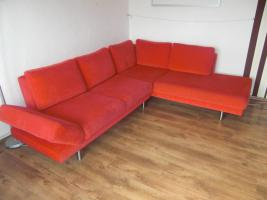 Designer Ecksofa mit Bettfunktion/Bettkasten