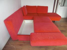 Foto 5 Designer Ecksofa mit Bettfunktion/Bettkasten