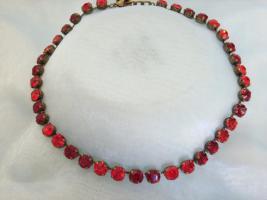 Designer Halskette, Swarovski ElementeSiam lt.Siam