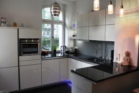 Designer Küche von Schüller - grifflos -
