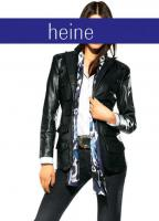Designer-Lammnappablazer - Ashley Brooke - Black - Größe 40 - OVP