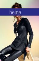 Designer-Ledershirt - Rick Cardona - Black - Größe 38 - NEU