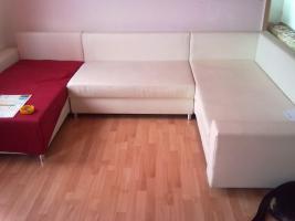 Foto 2 Designer Möbeln. 1 Schrank 1 Tisch 1 Couch 1 steh lampe 2 Lampen
