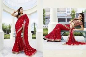 Designer Party Sari