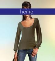 Designer-Pullover oliv - Größe 36/38 - OVP - NEU