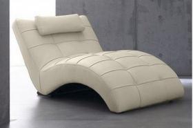 Designer Relaxliege von Spagnesi (Echtes Rindsleder)