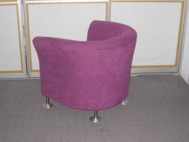 Foto 2 Designer Sessel in Ruby Red - Unikat