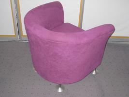 Foto 3 Designer Sessel in Ruby Red - Unikat