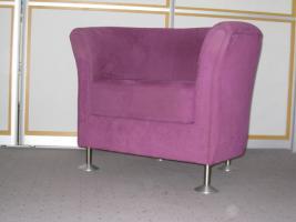 Foto 4 Designer Sessel in Ruby Red - Unikat