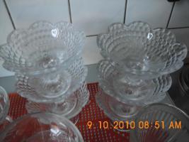 Foto 2 Dessertschalen aus Glas
