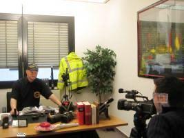 Foto 16 Detektive im Fernsehen. spies sicherheits training im Fernsehen. :Army Coaching in NRW