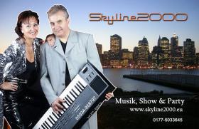 Deutsch polnische Hochzeitsband Skyline2000 mit Sängerin