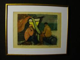 Deutscher Expressionismus Lithographie