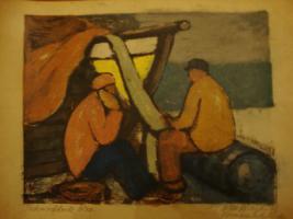 Foto 2 Deutscher Expressionismus Lithographie