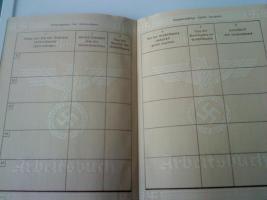 Foto 3 Deutsches Reich Arbeitsbuch