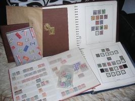 Deutsches Reich, Saar, Gouverment, Danzig, uvm, Briefmarkennachlass