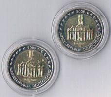 Deutschland 2 Euro Gedenkmünzen '' 2009 ''Saarland !!