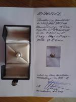 Diamantring mit Akoja-Zucht-Perle