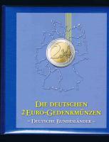 Die Deutschen 2 Euro-Gedenkmünzen - Deutsche Bundesländer - 2006 - 2013 Prägefrisch .