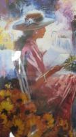 Foto 2 Die Lesende von S.Rochelle Kunst Dekoration Druck Grafik Kunst