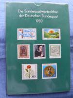 Die Postwertzeichen der Bundesrepublik Deutschland von 1980 -1989