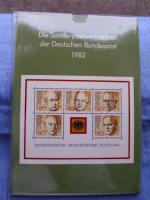 Foto 3 Die Postwertzeichen der Bundesrepublik Deutschland von 1980 -1989