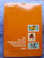 Foto 4 Die Postwertzeichen der Bundesrepublik Deutschland von 1980 -1989