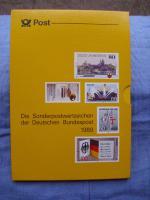 Foto 10 Die Postwertzeichen der Bundesrepublik Deutschland von 1980 -1989