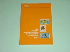Die Sonderpostwertzeichen der Deutschen Bundespost 1983