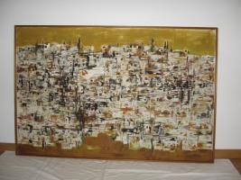 ''Die Weisse Stadt'' von Wil Sensen, Ölgemälde