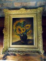 Die berühmten Sonnenblumen........