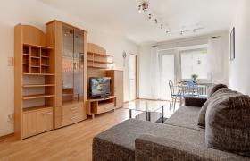 Die helle und gemütliche Wohnung mit 2.0 Zimmern