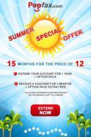 Diesen Sommer macht PopFax seinen Kunden ein Geschenk