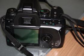 Foto 2 Digitale Spiegelreflexkamera, Konica Minolta Dynax 5D mit 4 Objektiven