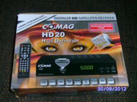 Foto 2 Digitaler HD Satelliten-Reciver von COMAG mit 20 Monaten Garantie