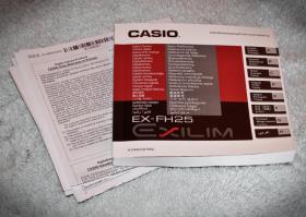 Foto 5 Digitalkamera Casio EX FH-25 + Zubehör / Rechnung / 1 Jahr Garantie / OVP