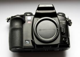 Foto 2 Digitalkamera Dynax 7D mit Objektiv
